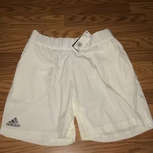 Adidas clima cool stretch short white Large